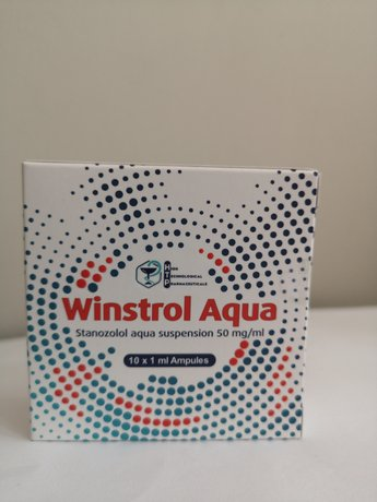 Winstrol Aqua/Stanozolol Aqua  High Technological Pharmaceuticals 50 мг/мл.